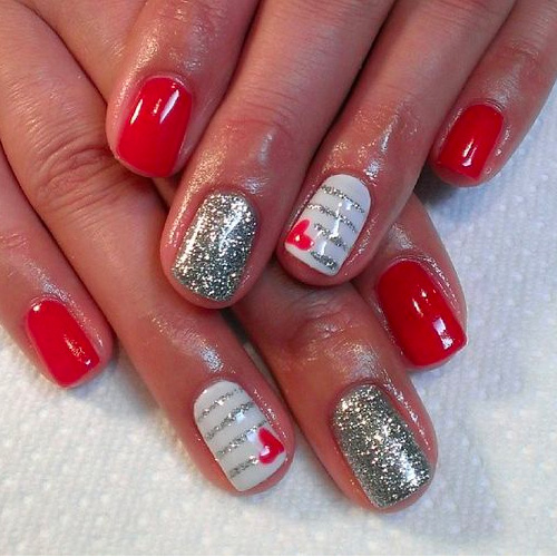 12 Valentineu0027s Nail Designs For Heavy Romance ...