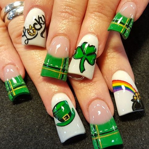 St Patrick S Day Nails 66 Best Nail Art