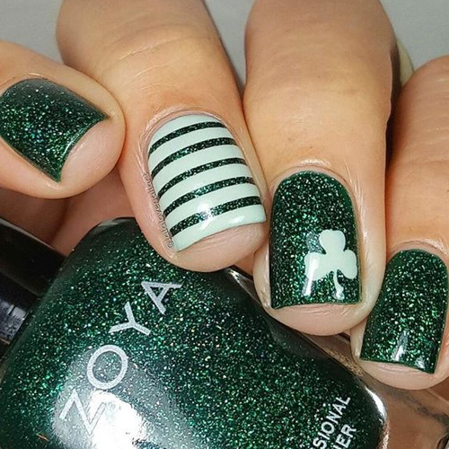 66 Best St. Patrick's Day Nail