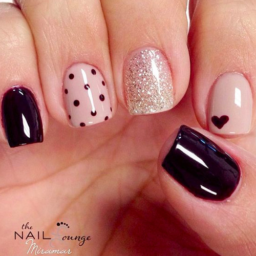 Gel Nail Art Gallery: 22 Best Valentine's Day Nail Designs For 2019