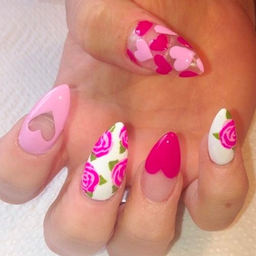 Best Valentine S Day Nails For 2019 44 Heartwarming Nail Designs